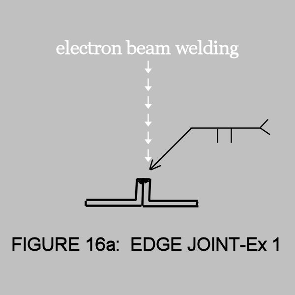 electron beam welding joint-16a