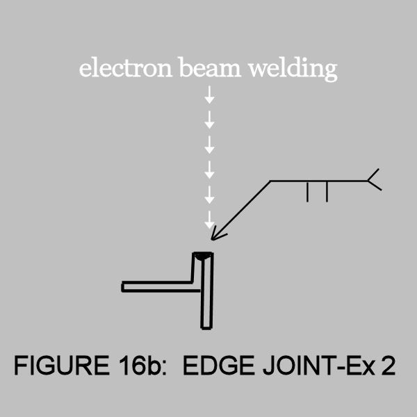 electron beam welding joint-16b